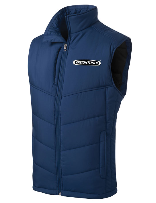 Freightliner Mens Puffy Vest