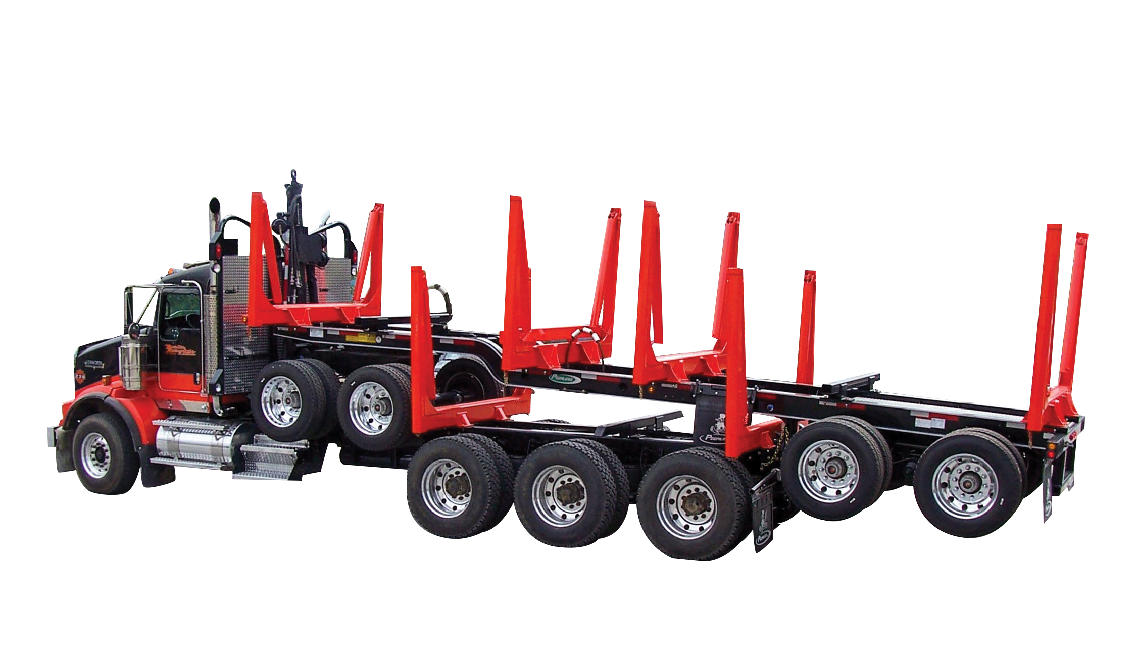 Quad Axle Short Logger from Peerless