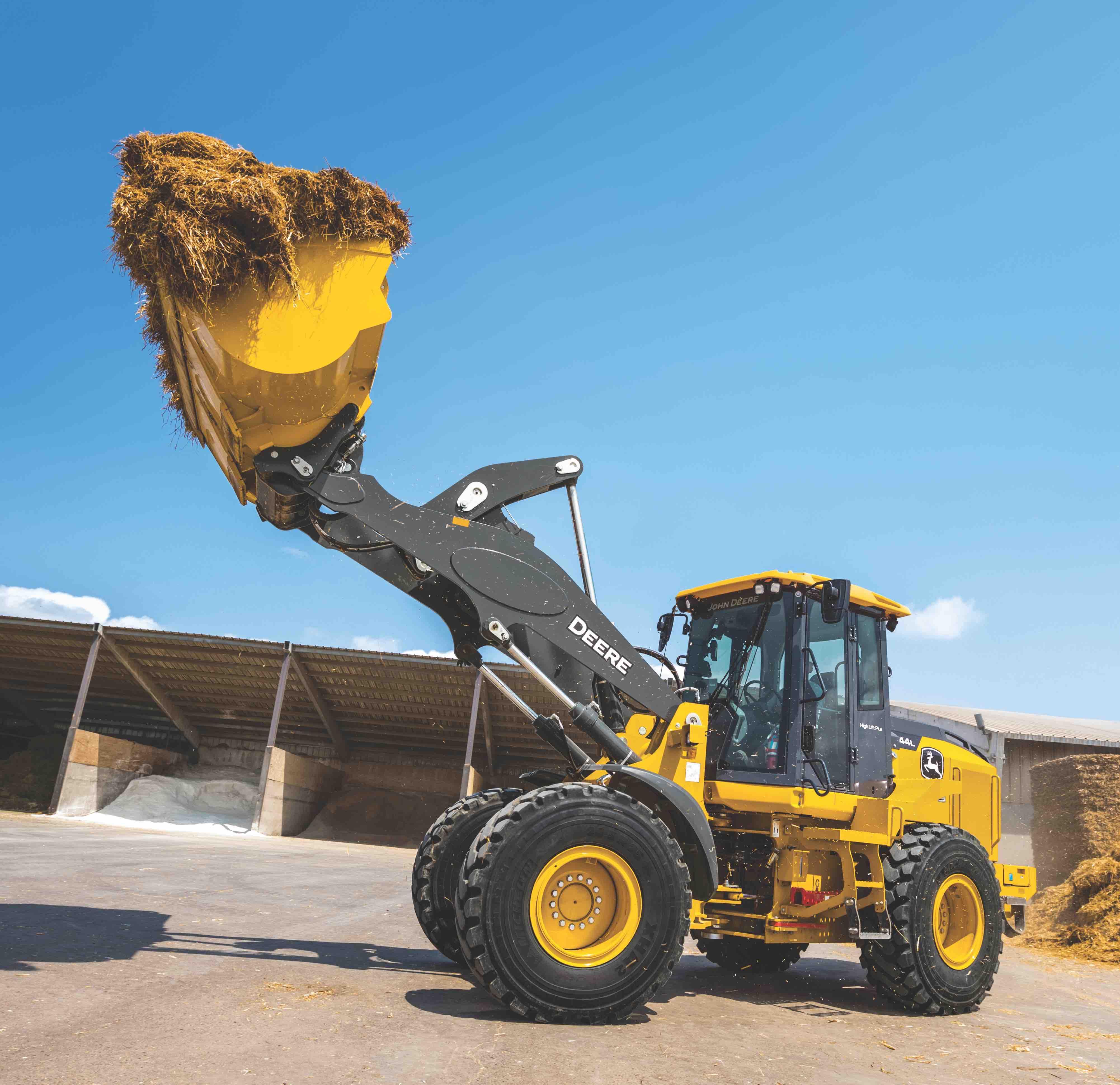 New John Deere L-Series Utility Wheel Loaders Primed To Take