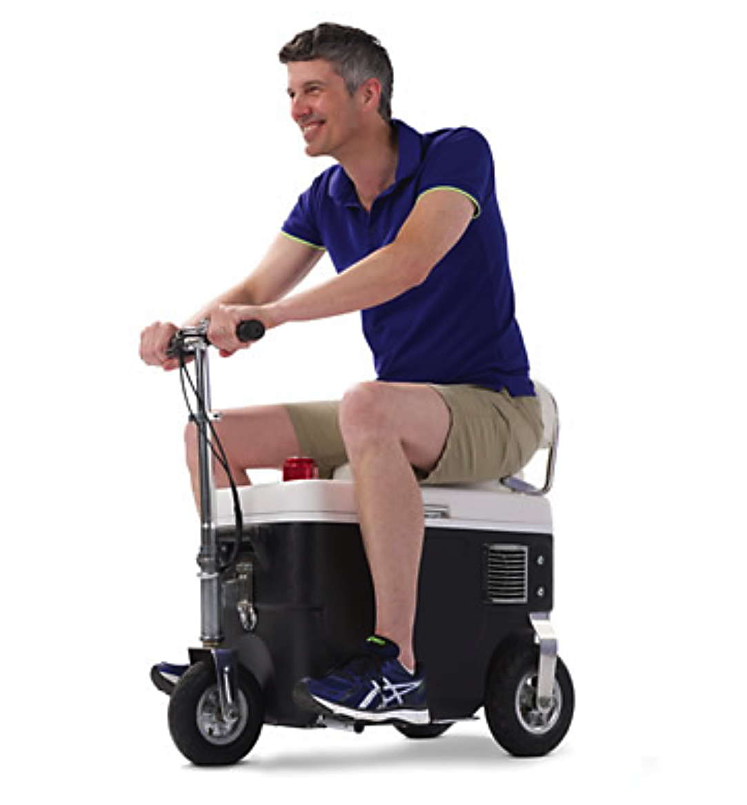 Father's Day Gift Idea Scooter Cooler