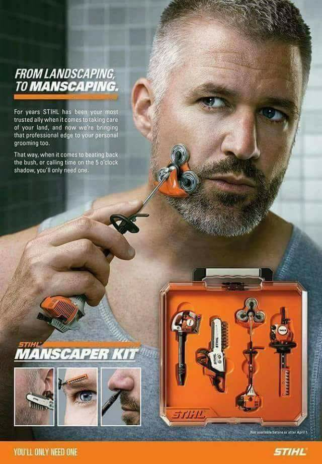Fathers Day Gift Idea Stihl Beard Shaver Trimmer Funny