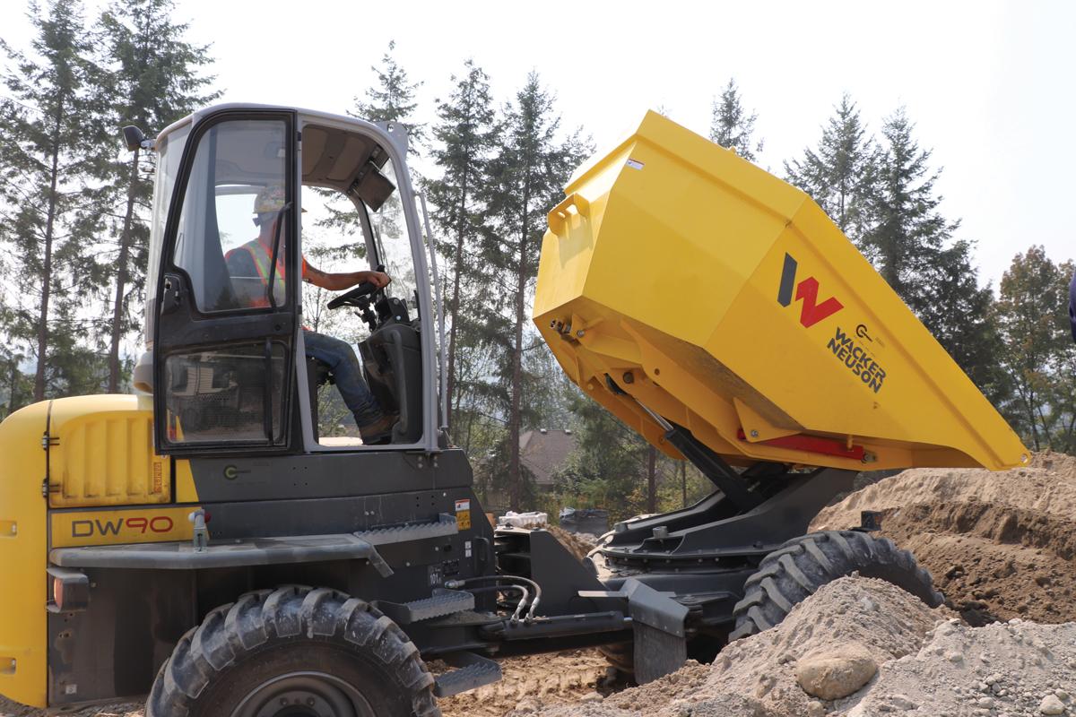 Supply Post Wacker Neuson DW90 Dumper
