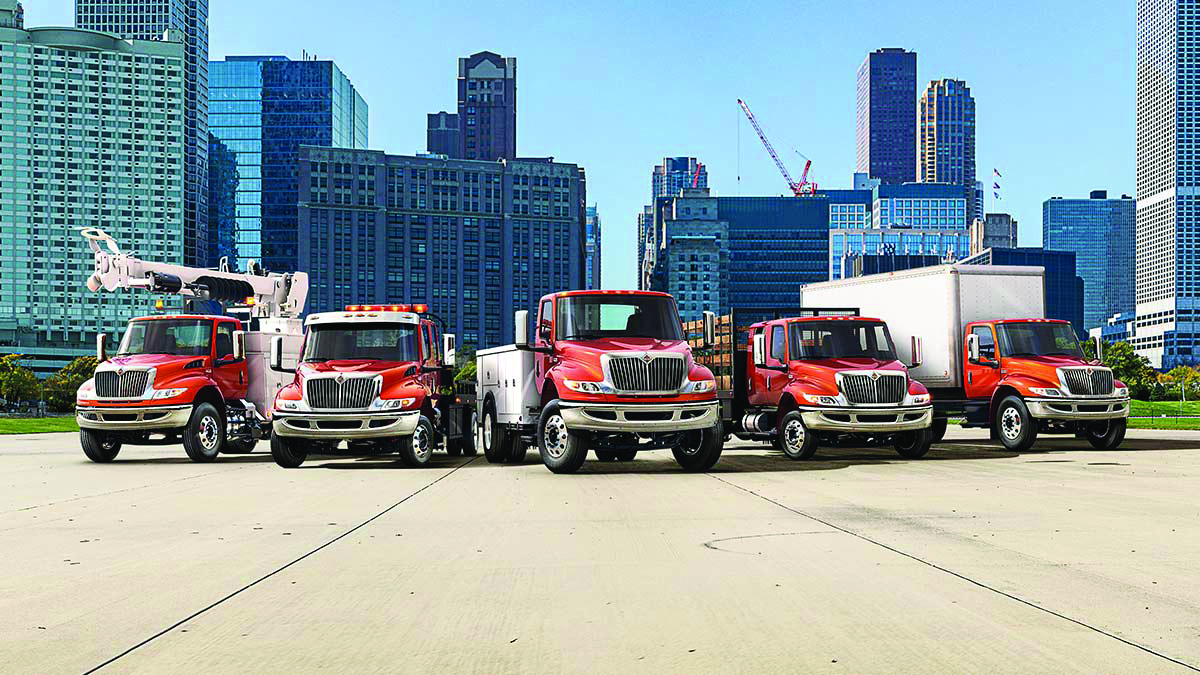 International truck unveils the international mv series supply international truck recently launched its new class 67 international mv series at the 2018 work truck show the mv series launch completes the companys publicscrutiny