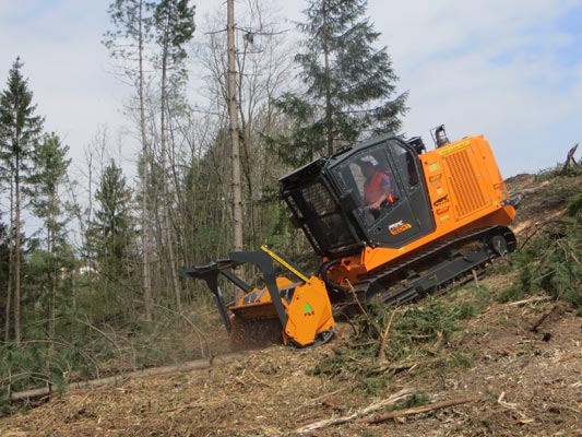The New PT-175 Forestry Mulcher: More Service Friendly, More