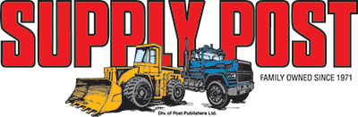 Supply Post Logo - Canada's Heavy Construction Equipment and Commercial Truck Newspaper