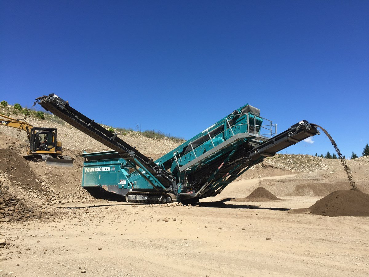 2017 Powerscreen Chieftain 1700