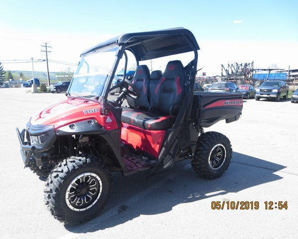 2019 Mahindra Retriever 750S