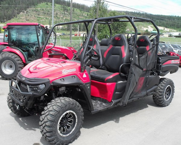 2019 Mahindra Retriever 1000S