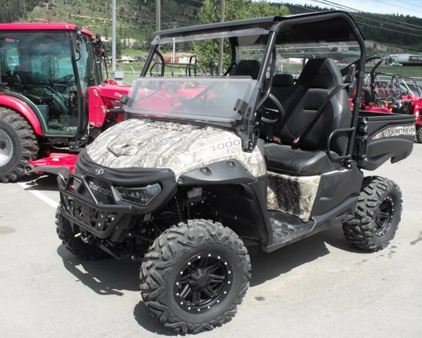 2018 Mahindra Retriever 1000S