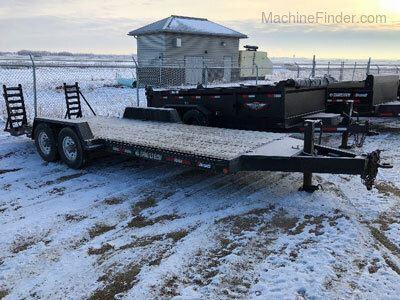 2021 Trailtech l270 20' flatdeck trailer