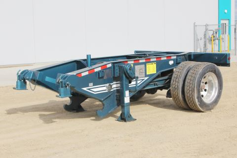 2019 Deloupe fish mouth self-steering single axle booster