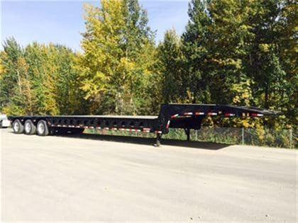 2019 Doepker 40 ton 10' wide scissorneck