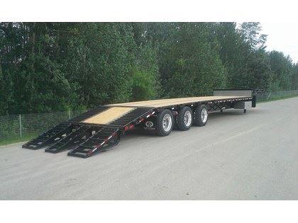 2019 Doepker tridem steel with ramps