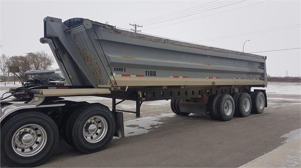 2002 Arnes TRIAXLE END DUMP